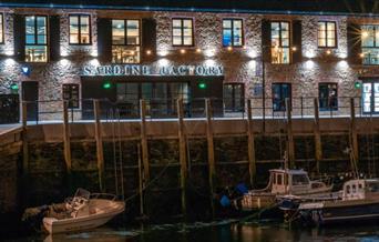 Sardine Factory - exterior