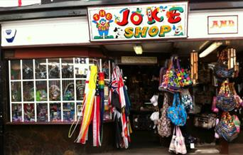 Shell & Joke Shop exterior
