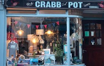The Crabb Pot - shopfront