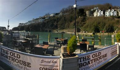 The Old Boat House - outdoor seating
