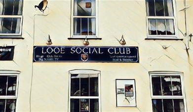 Looe Social Club - artwork of exterior