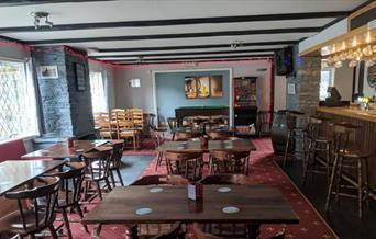 The Barbican Inn - bar area