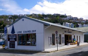 Looe Chandlery shopfront