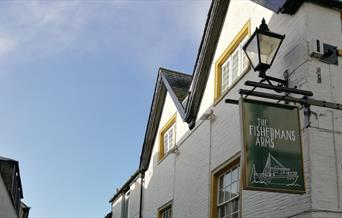 The Fisherman's Arms - sign