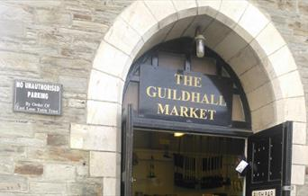 The Guildhall Market - exterior
