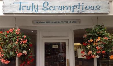 Truly Scrumptious - sign