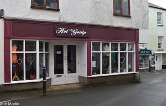 Hot Gossip Boutique, shopfront