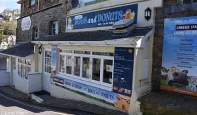Dogs and Donuts exterior