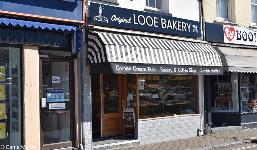 Original Looe Bakery exterior