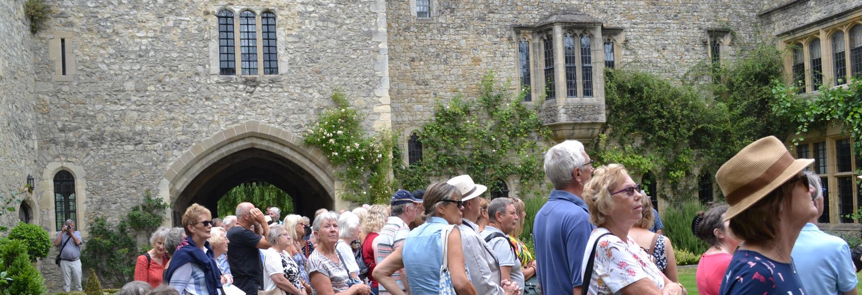 Kentish Lady's Allington Castle Tour