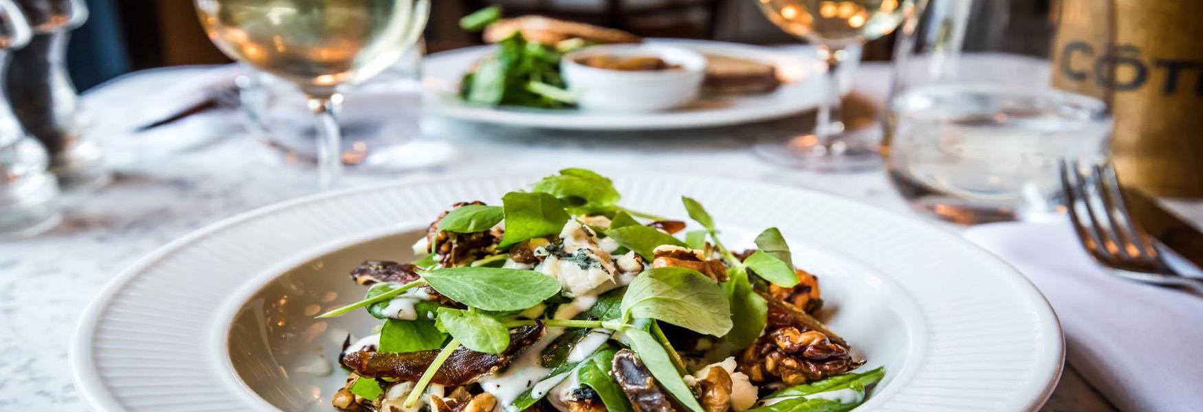 Seasonal Menus at Cote Brasserie