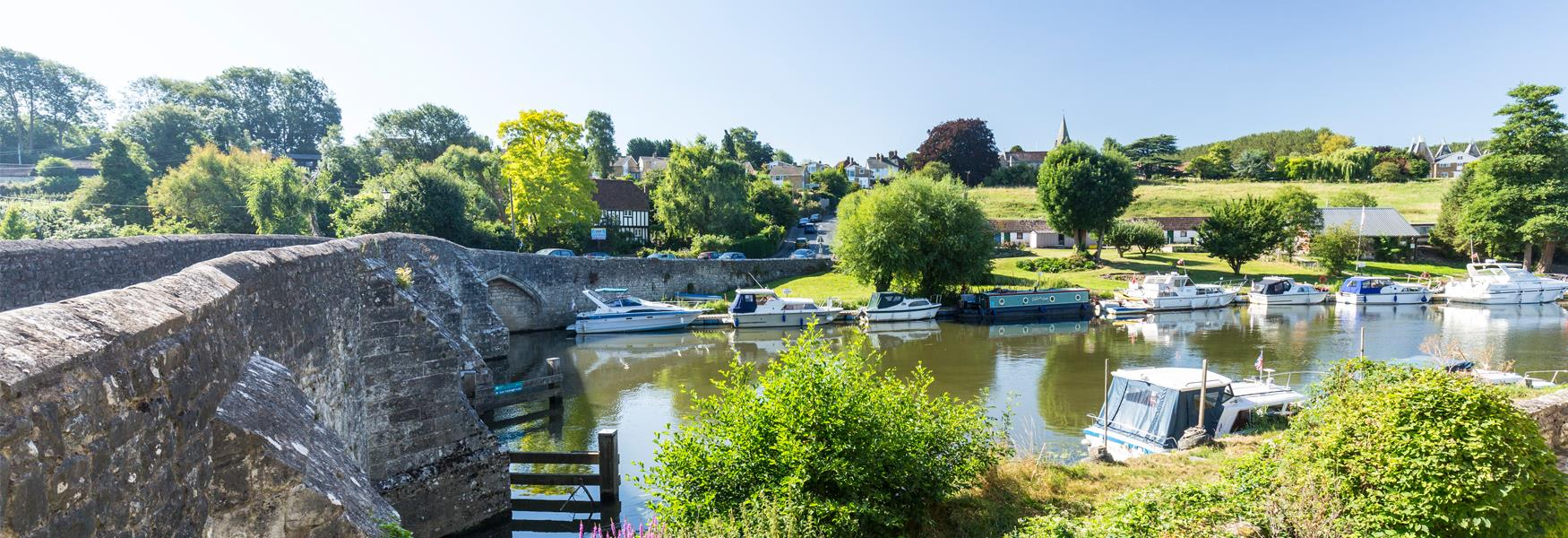 Beautiful Countryside, Rivers & Villages to Explore
