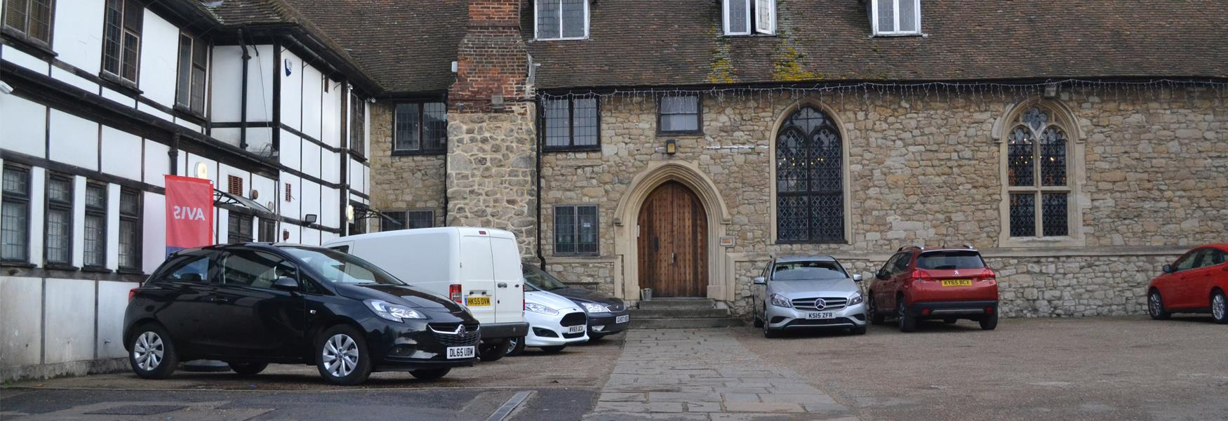 Avis Car Hire at Corpus Christi Hall, Maidstone