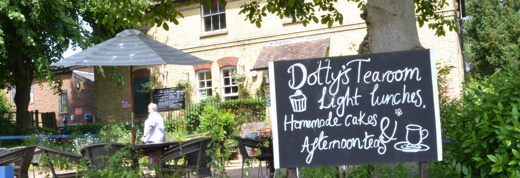 Dotty's Tea Room at Kent Life