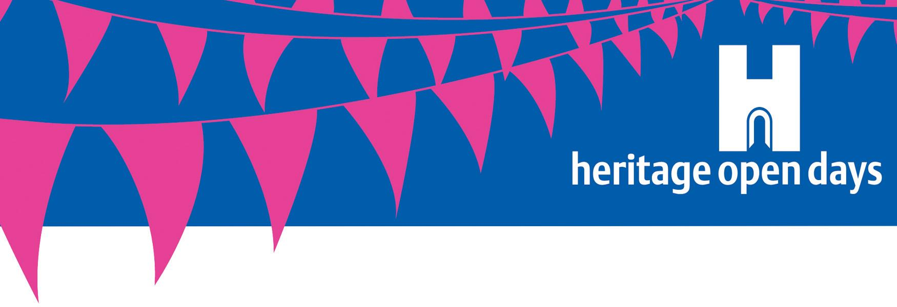 Heritage Open Days Bunting