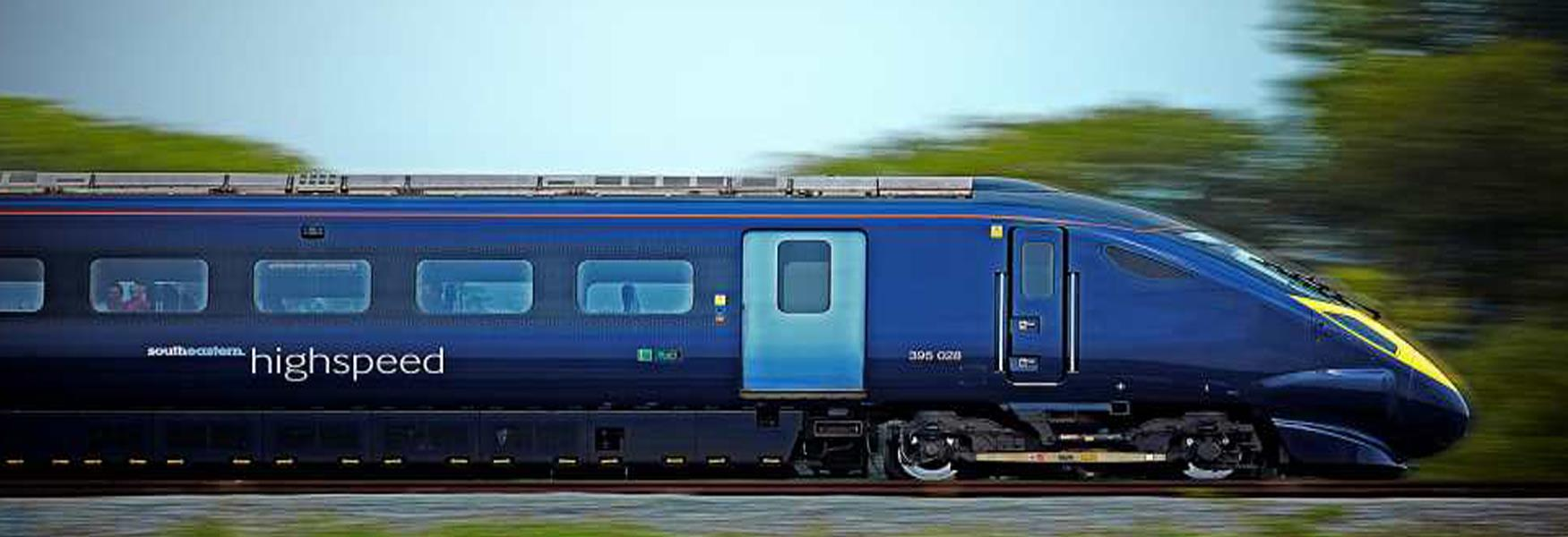 High Speed Train Strood to St Pancras
