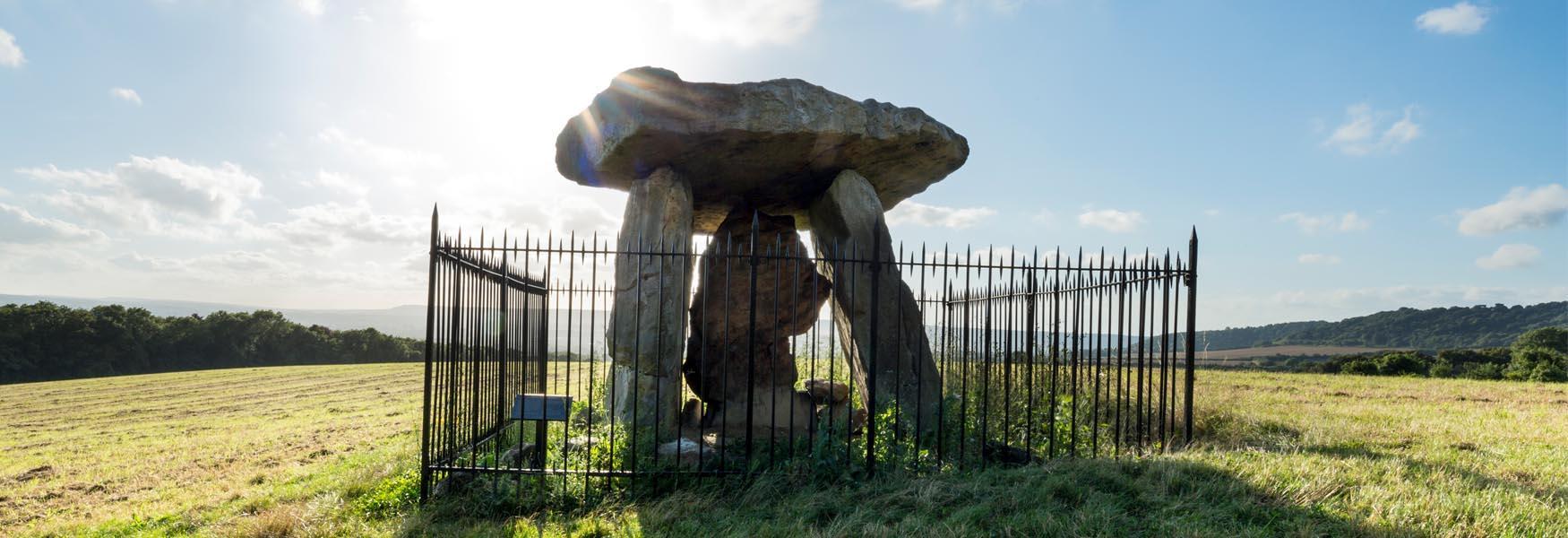 Kits Coty Megalithic 'dolmen'
