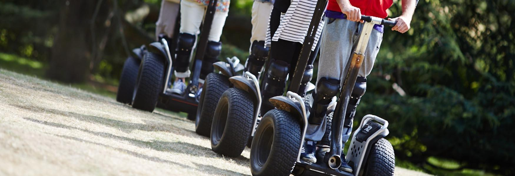 Segway Events in Mote Park