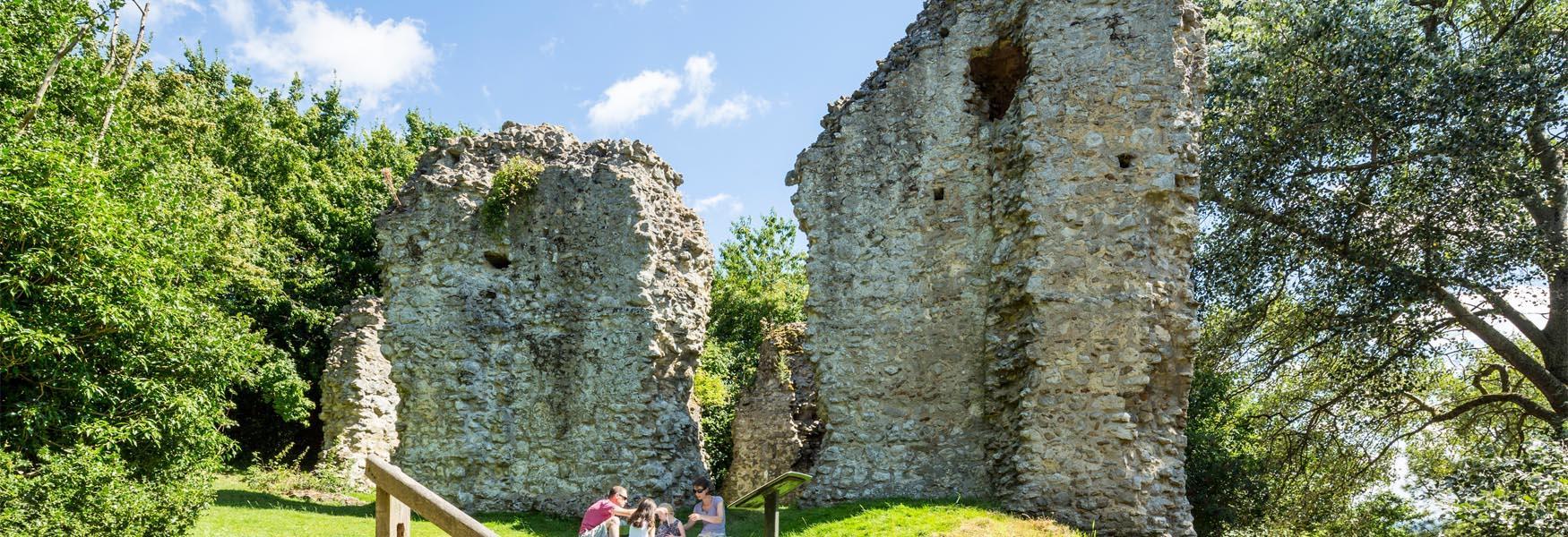 Sutton Valence Castle Ruins