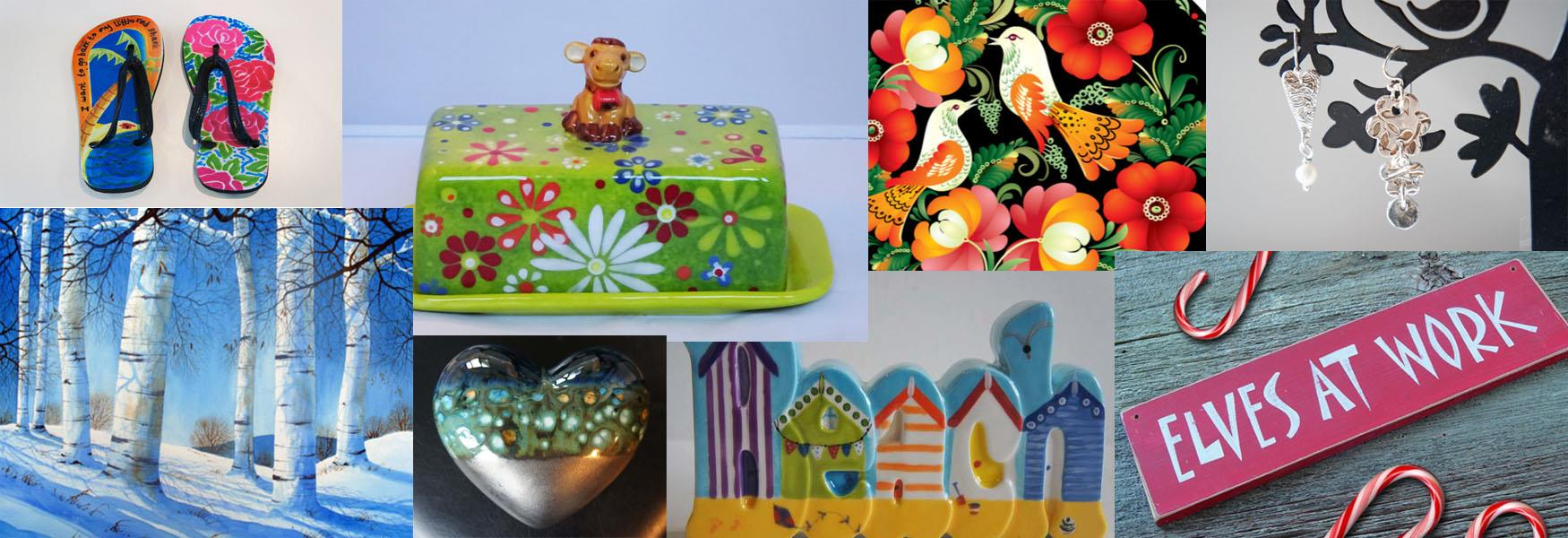 This Art of Mine combination of painting and crafting class products.