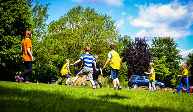 Games at Maidstone Leisure Centre Holiday Club