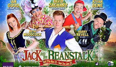 Jack and the Beanstalk Cast for 2021 Panto