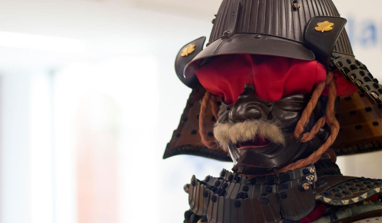 Samurai armour at Maidstone Museum