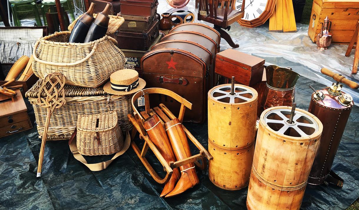Detling Antiques Market