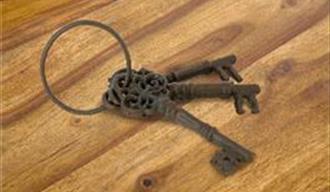 Placeholder: keys for accommodation in Tunbridge Wells region, Kent