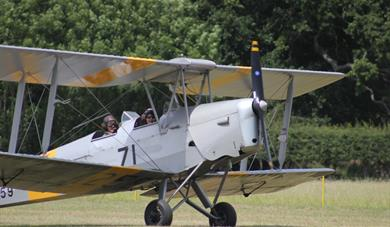 Tiger Moth Headcorn Aerodrome