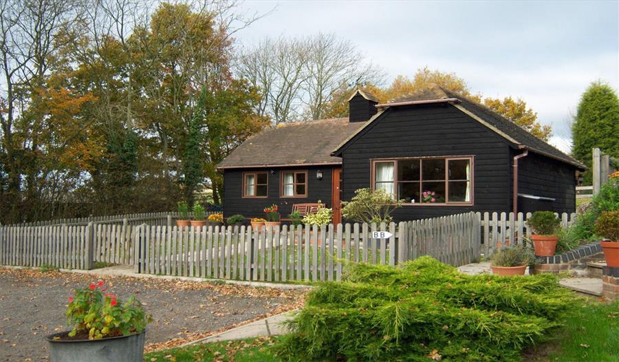 Outside Apple Pye Cottage