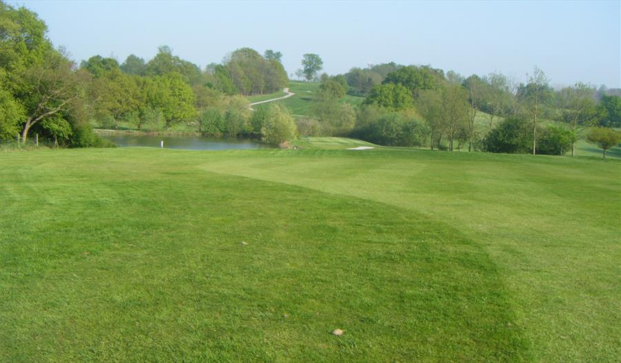 Golf green at Bearsted Golf Club