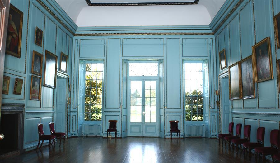 Inside Bradbourne House