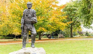 Statue in Brenchley Gardens
