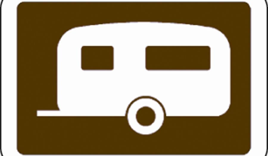 Camping and Caravanning sign