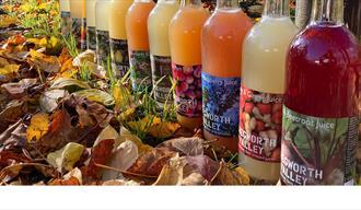 Chegworth Valley bottled juices