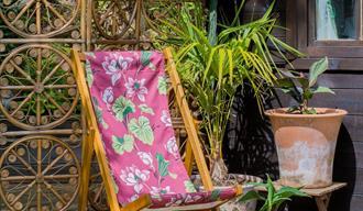 Handmade classic deckchair by Denys & Fielding