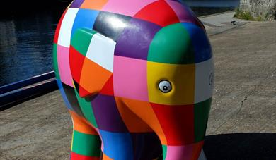 Elmer's Big Heart of Kent Parade