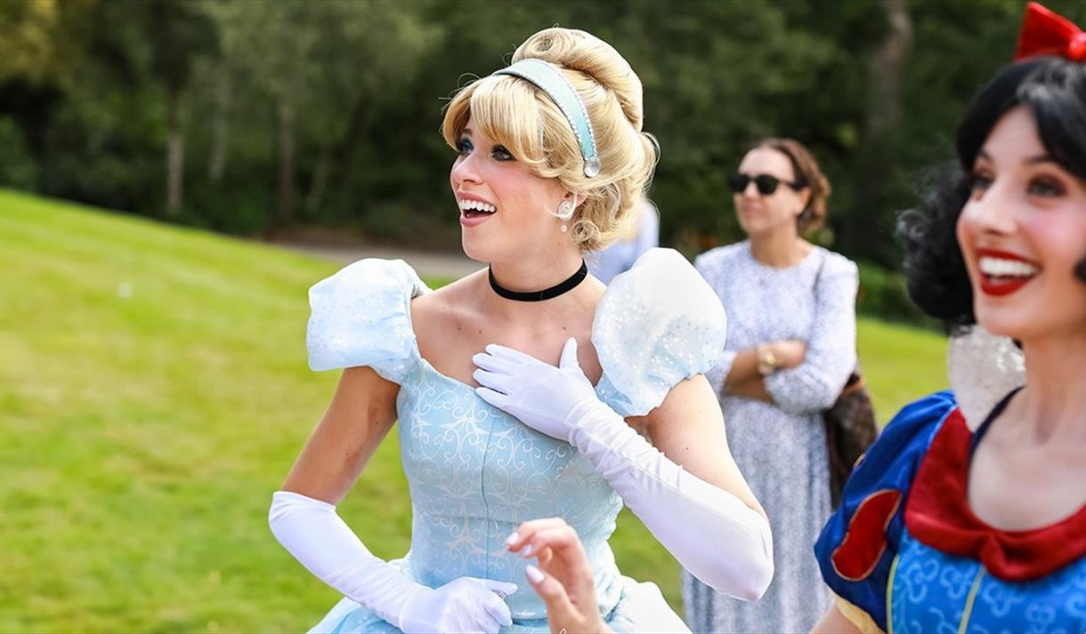 Princeses from Once Upon a Wish Events