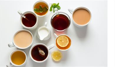 A selection of teas