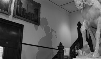 Shadow of a ghost at Maidstone Museum