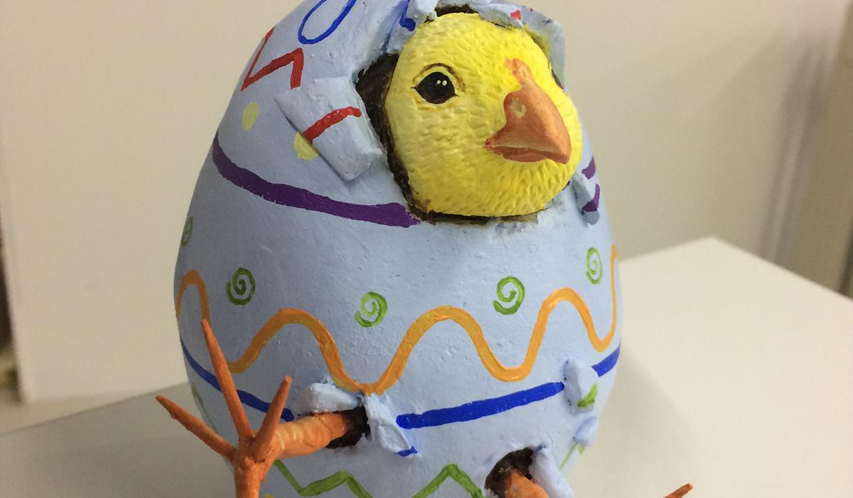 Clay hatching chick project