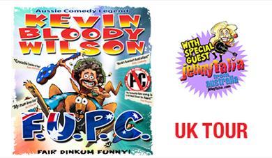 Kevin Bloody Wilson FUPC Tour logo