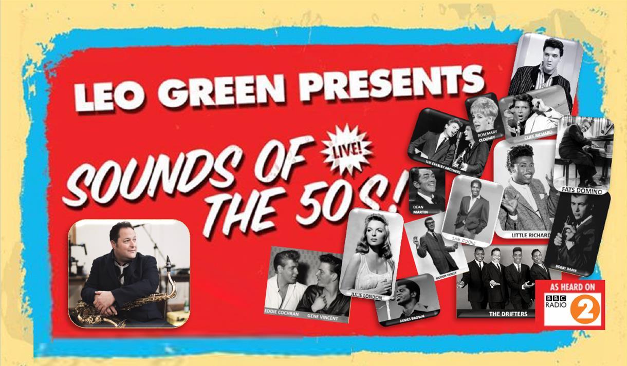 Leo Green Sound of the 50's logo