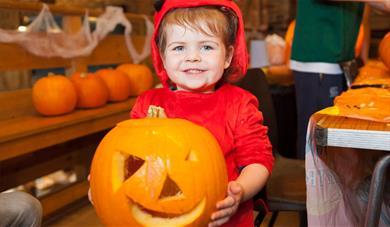 Little-Boy-with-pumpkin