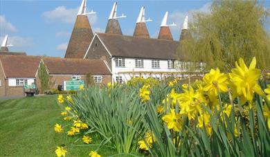 The Oasts at The Hop Farm, Kent.