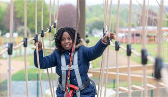 Outdoor Adventure High Ropes