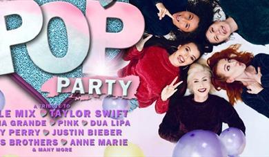 Total Pop Party logo