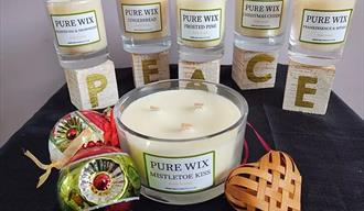 Pure Wix Christmas Candles 2020