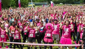 Cancer Research UK's Pretty Muddy, Pretty Muddy Kids and Race for Life 3k, 5k, 10k